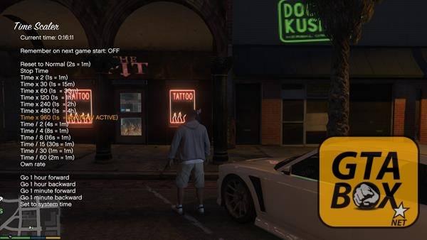 Управление временем в GTA - ночь