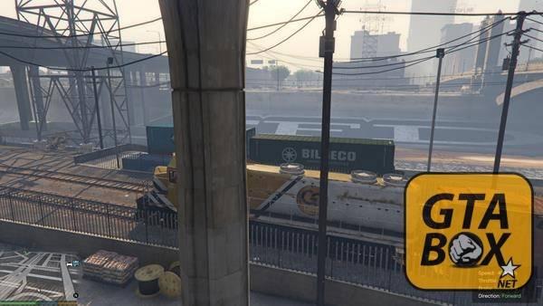 Поезда в GTA 5