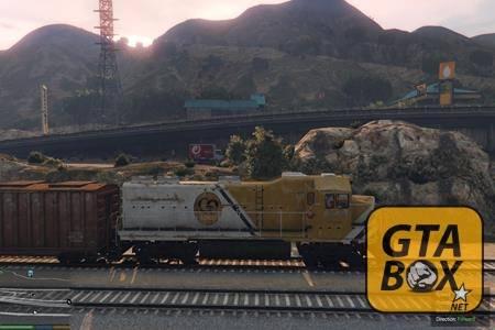 Управление поездами в GTA 5