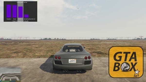 Ускорение в режиме турбо GTA 5