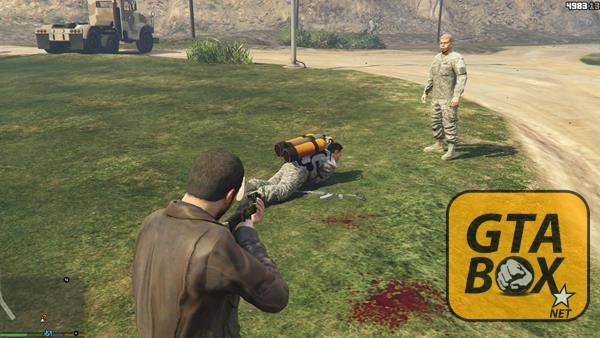 Активация Джетпака в GTA 5
