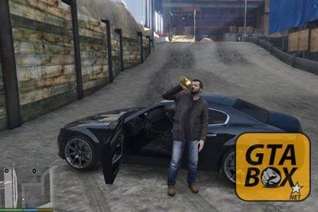 Распитие спиртных напитков в GTA 5