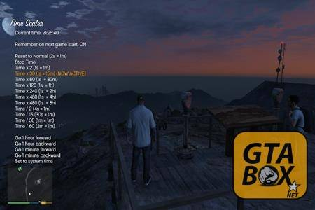 Управление временем в игре GTA 5