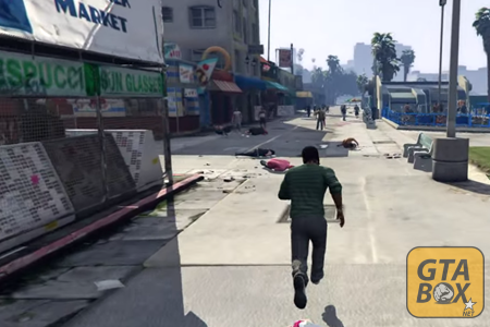 Люди умирают в Лос Сантосе