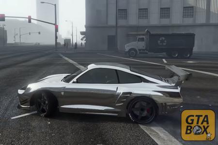 Тюнингованная машина в GTA 5