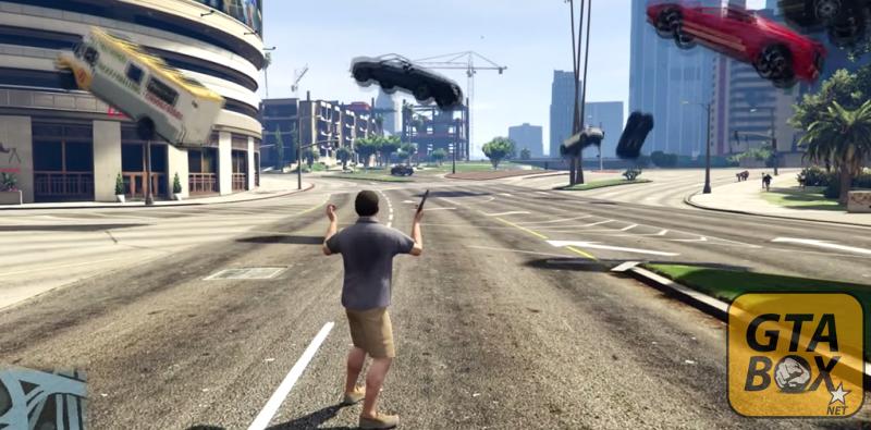 Машины в воздухе