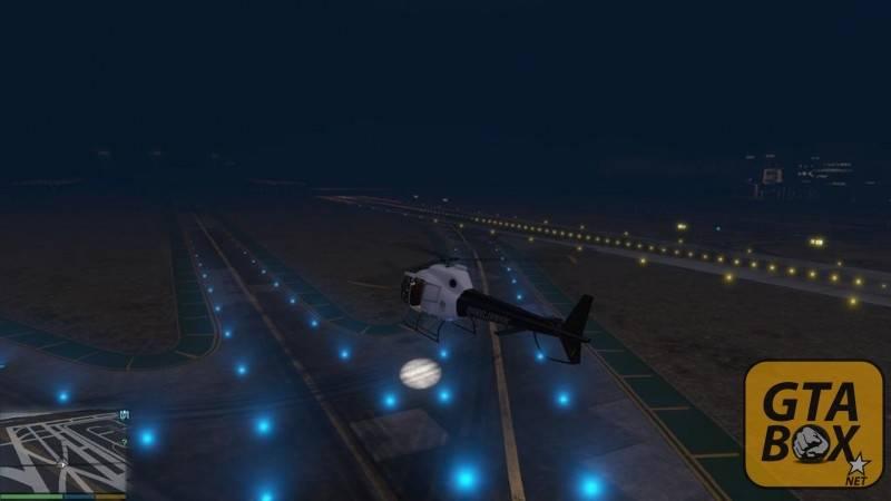 Прожектора на вертолете в GTA 5