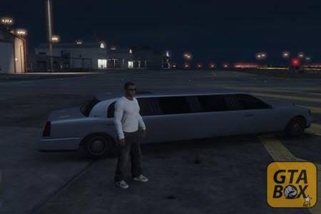 Франклин на аэродроме