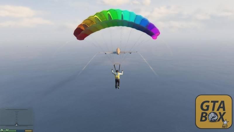 Франклин на парашюте