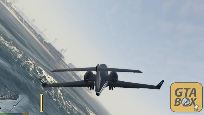 Самолет премиум класса в GTA 5