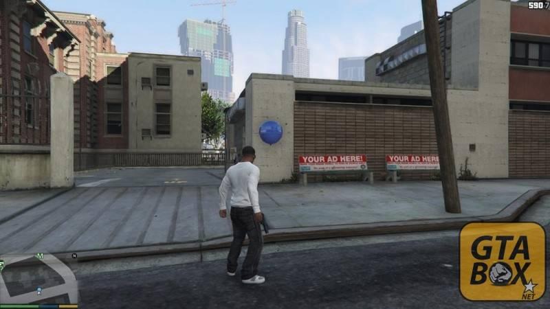 Франклин около портала