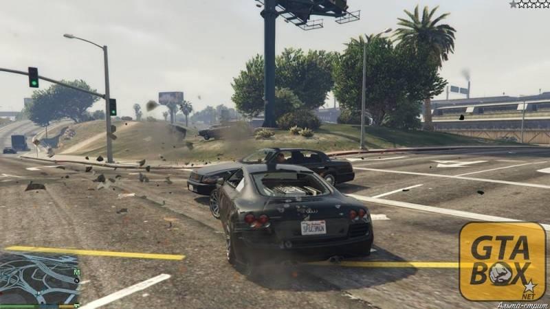 Тяжелые машины в GTA 5