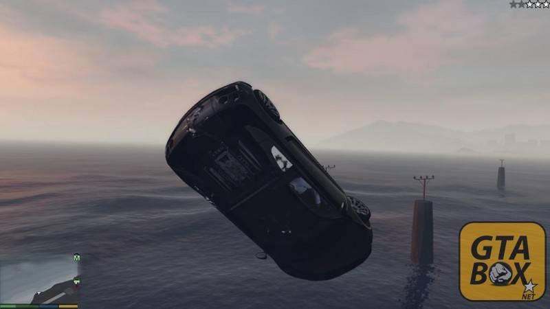 Летающий автомобиль в GTA 5