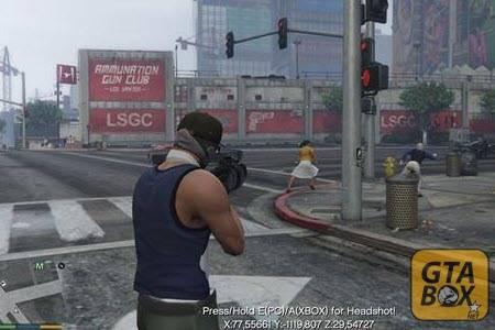 Убийство прохожих в GTA 5