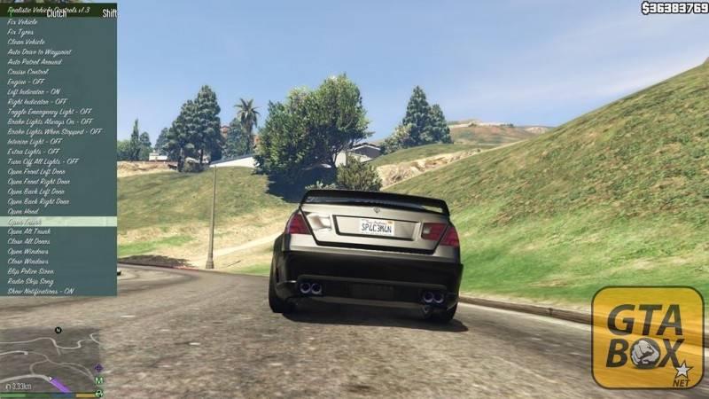 Дополнительный функционал для автомобилей в GTA 5