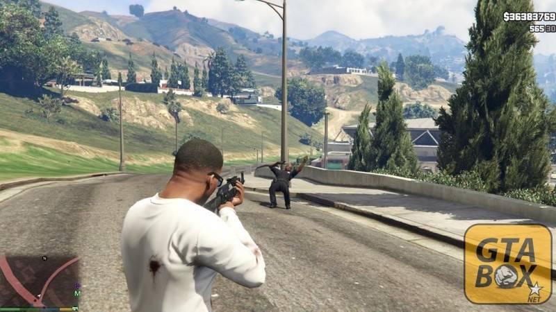 Самоубийство NPC в игре GTA 5