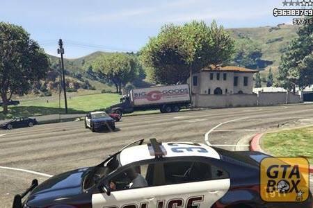 Франклин убивает полицейских
