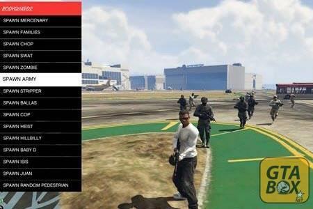 Спавн NPC в GTA 5