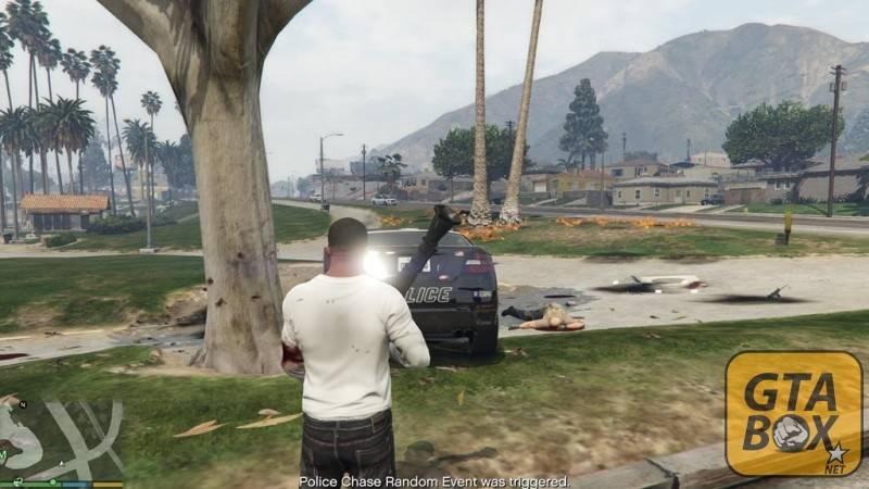 Активация случайного события в GTA 5