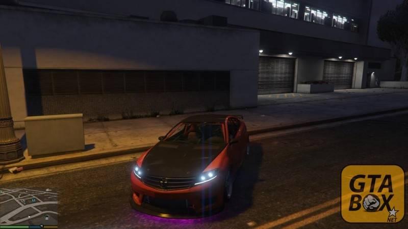 Дрифт автомобиля в GTA 5