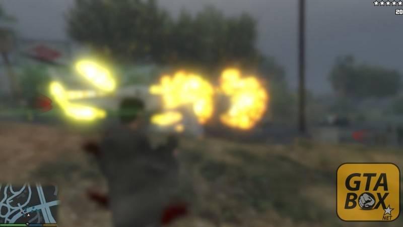Изменение графических эффектов от взрывов