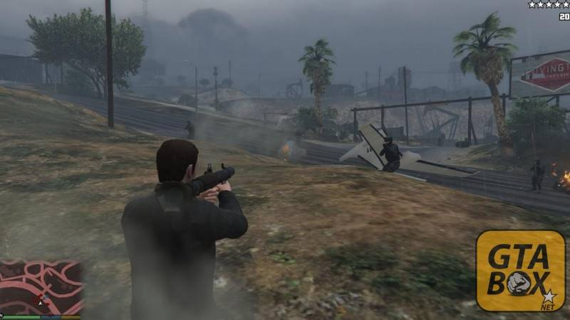 Стрельба из гранатомета