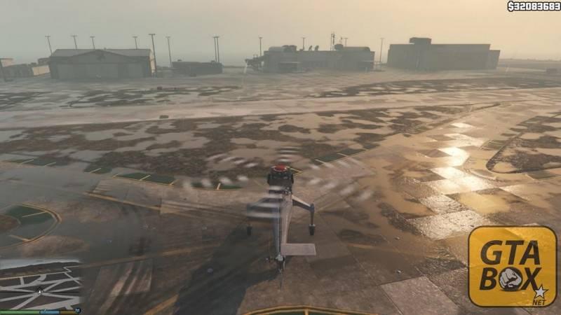 Вертолет в аэропорте Лос Сантоса