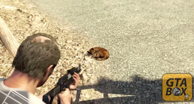 Домашние животные в GTA 5