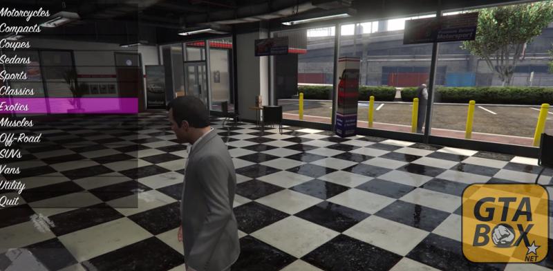 Майкл покупает новый автомобиль