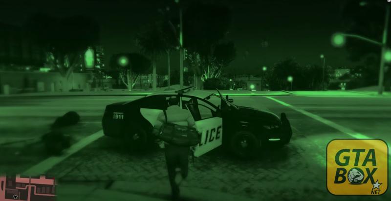 Угон полицейского автомобиля