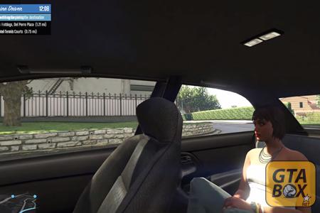 Майкл везет пассажира