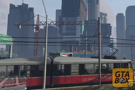 Поезда на поезде в качестве водителя