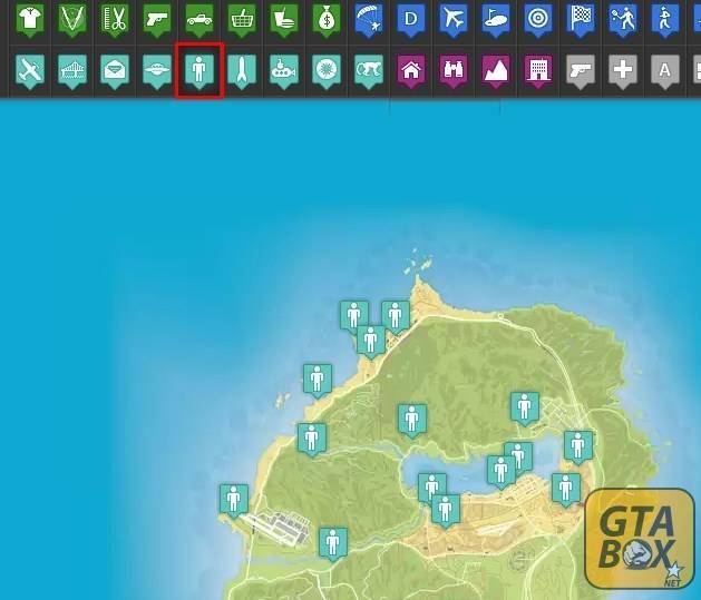 Карта чудаков в GTA 5