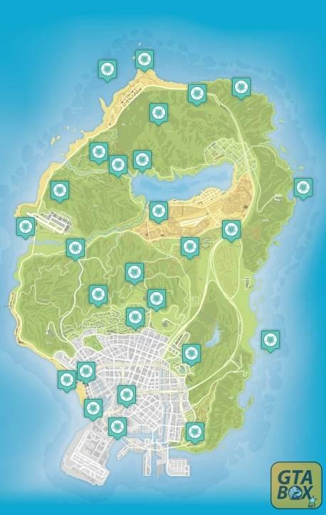 Карты лофофор в Gta 5