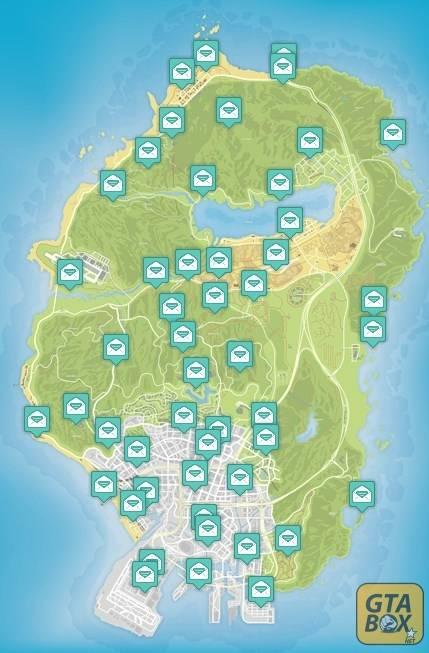 Карта обрывков письма