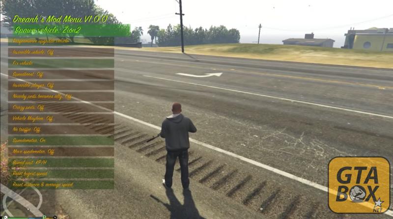 Управление автомобилем в GTA 5