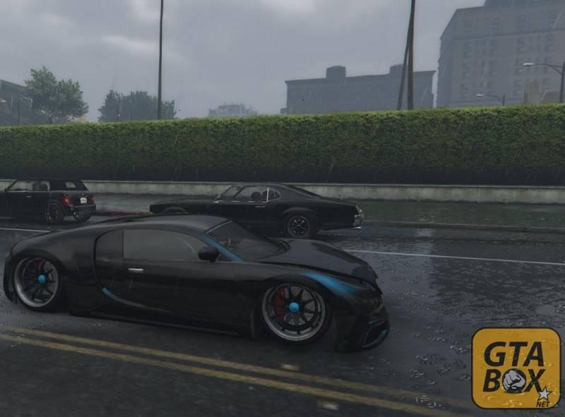 Заниженный спорткар в GTA 5