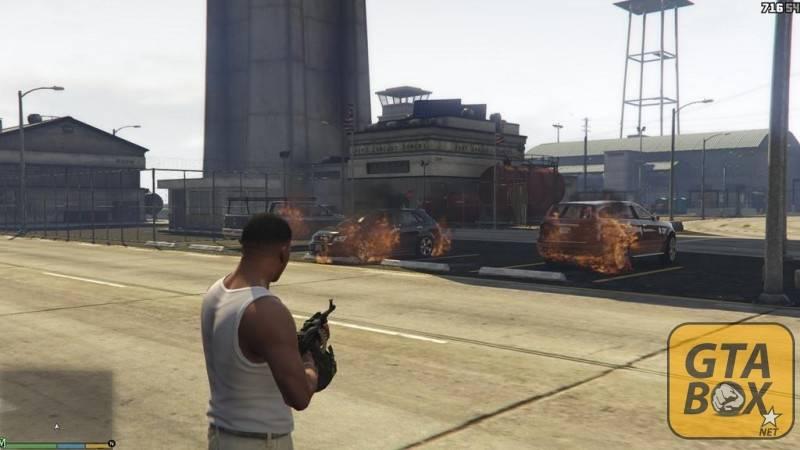 Франклин участвует в войне с бандами