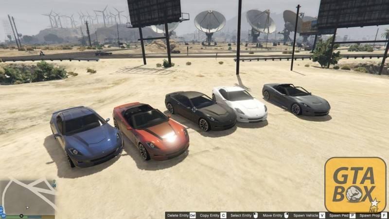 Установка автомобилей на карте