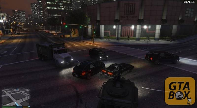 Хаос на дорогах Лос Сантоса