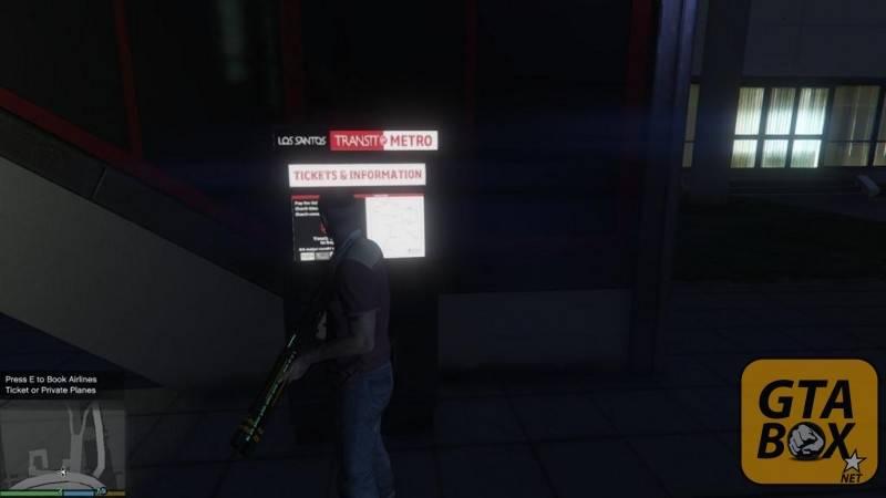 Терминал для заказа билетов