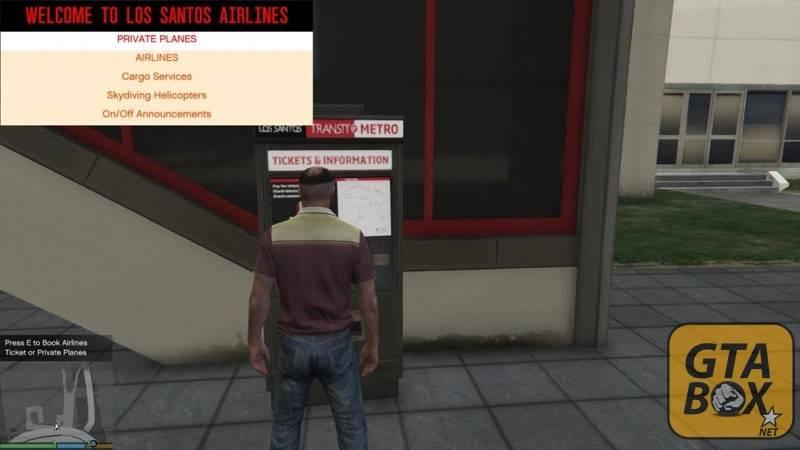 Тревор заказывает билет на самолет