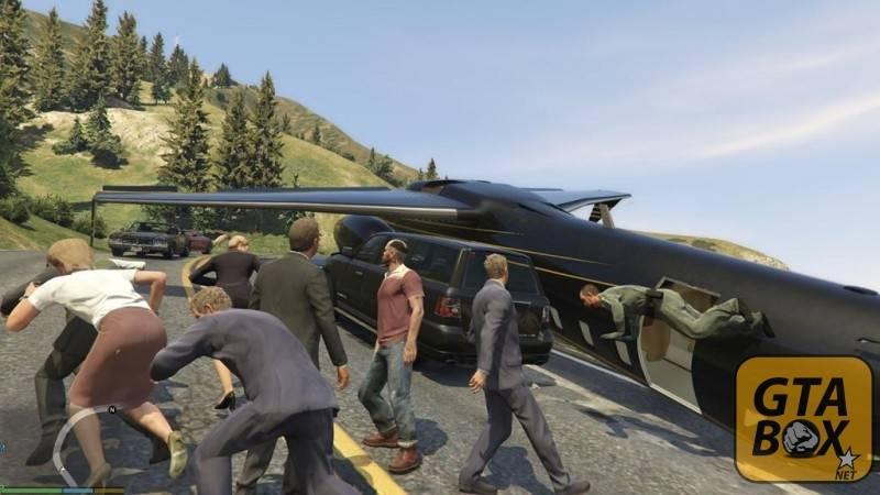 Управление пилотом в GTA 5