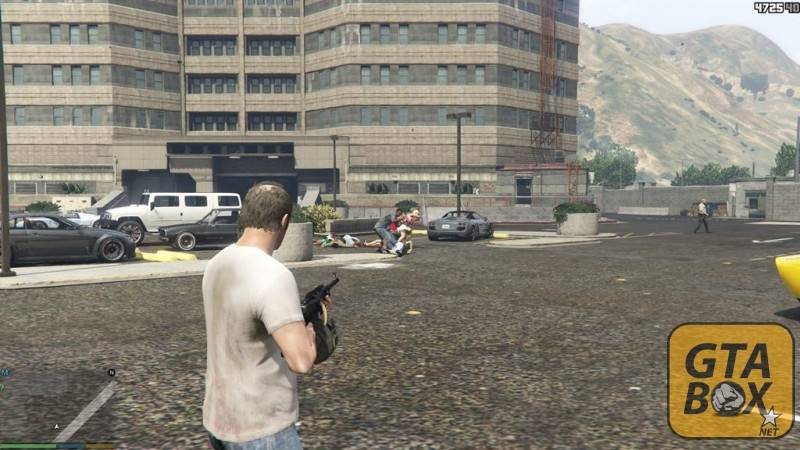 Перестрелка на базе SWAT