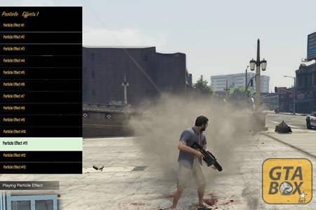 Визуальные эффекты в игре GTA 5