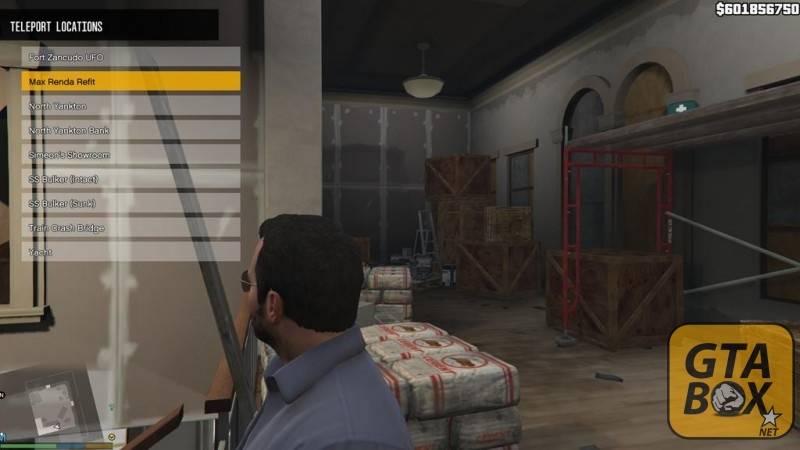 Пример разработки меню для GTA 5