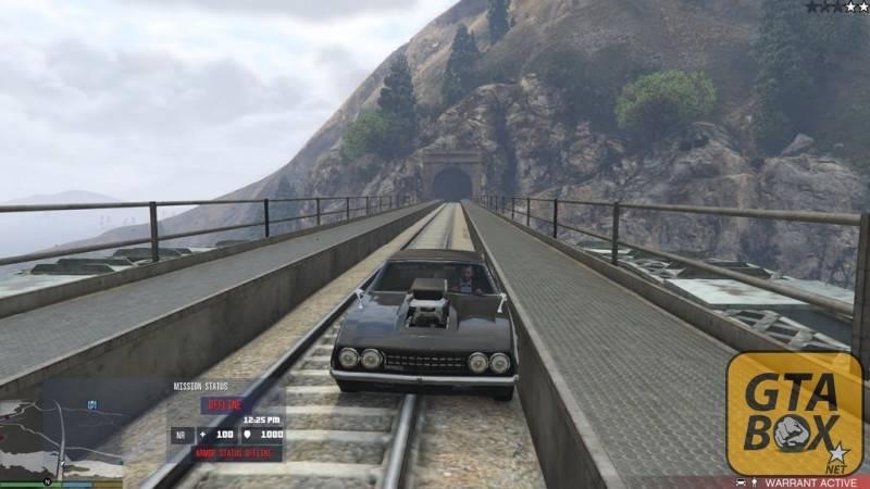 Бронированный автомобиль в GTA 5