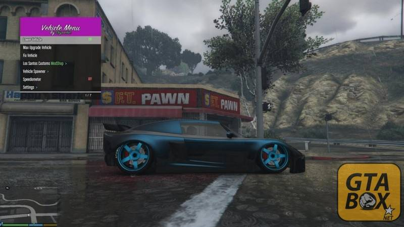 Тюнинг автомобиля в GTA 5