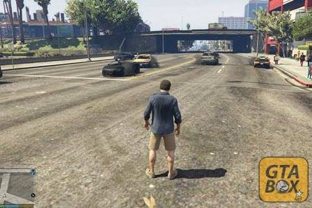 Взрыв шины на всех автомобилях