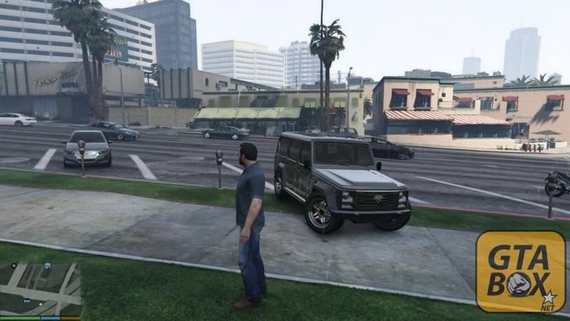 Фиксация колес у джипа в GTA 5